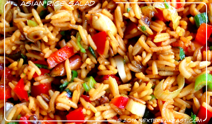 asian rice salad