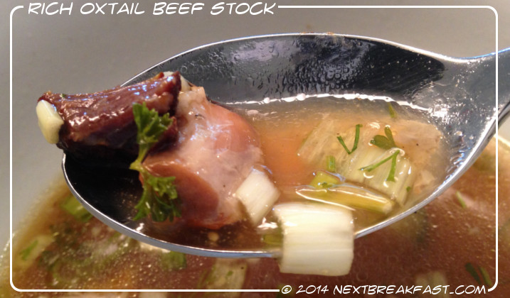 Oxtail Beef Stock