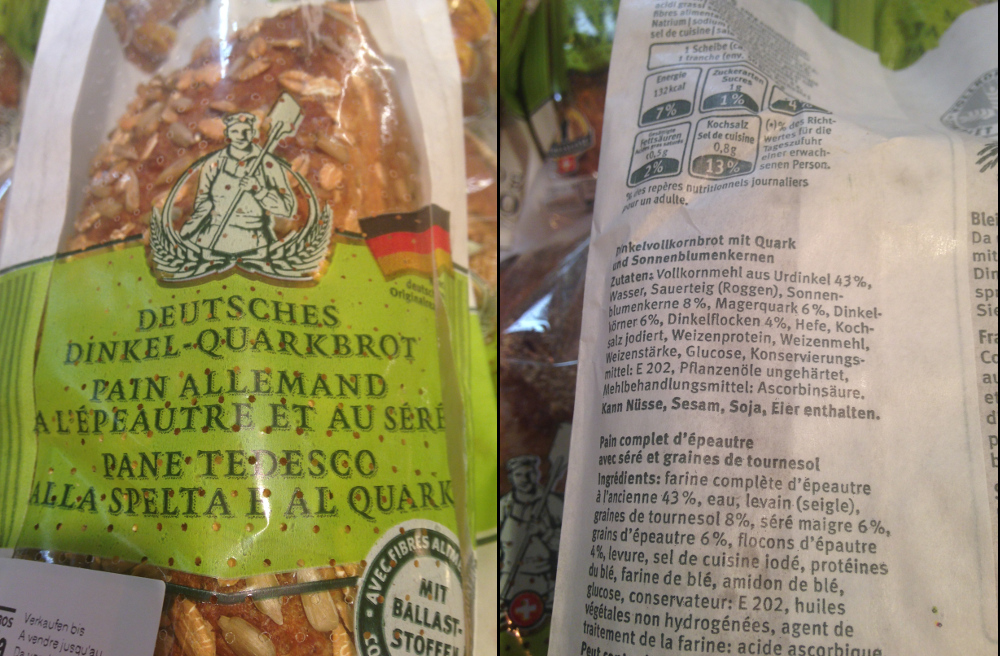 deutches quarkbrot
