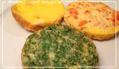 Traffic Light Omlette