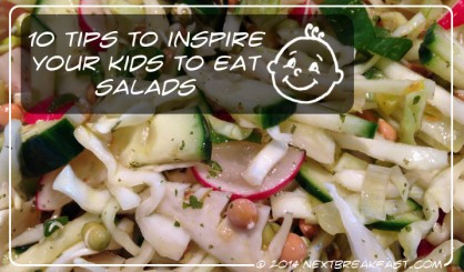 Inspiring salads for kids