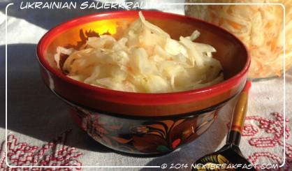 Ukrainian Sauerkraut