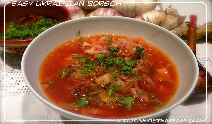 Easy Ukrainian Borsch