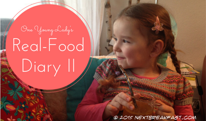 Real food diary II
