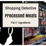 ShoppingDetective: Processed Meats, Ingredients