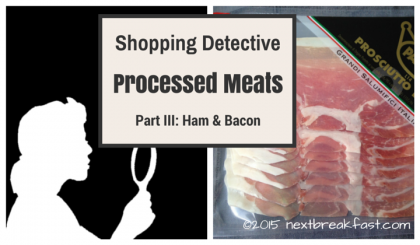 Shopping Detective ham and bacon