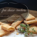 Gluten free cheese crackers